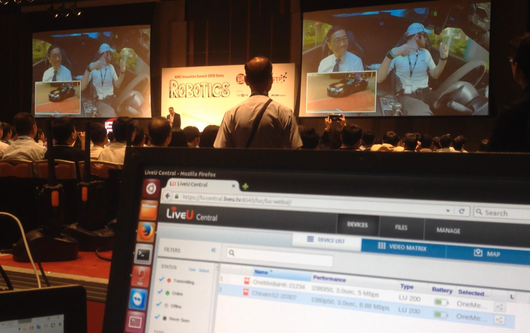 LiveU Case Study : APAC Innovation Summit 2016